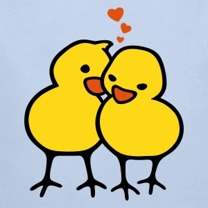 Chicks in Love - Baby Bio-Langarm-Body