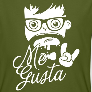 Like a cool geek me gusta story meme boss bro face T-shirts - Mannen Bio-T-shirt