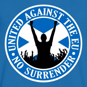 Anti EU Scotland - No Surrender T-Shirts - Men's V-Neck T-Shirt