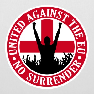 Anti EU England - No Surrender Bags  - Tote Bag