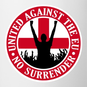 Anti EU England - No Surrender Bottles & Mugs - Mug