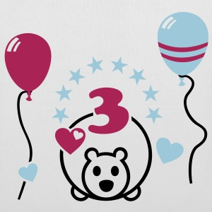 Finally, 3 years old! Third birthday Bags  - Tote Bag