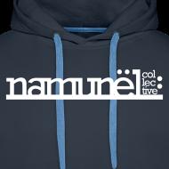 Motiv ~ Namunël hoodie, marineblå