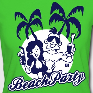 Beach Party T-shirts - Vrouwen Bio-T-shirt