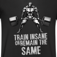 Design ~ Train Insane V NECK
