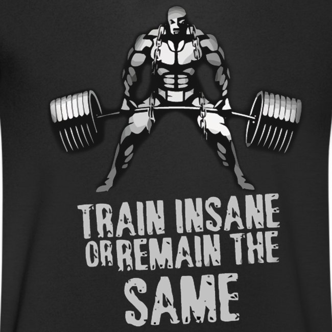 Train Insane V NECK