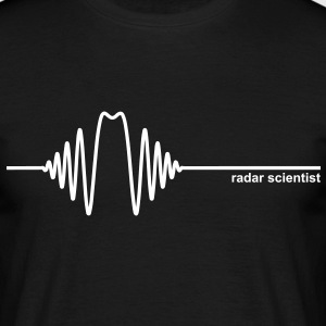 Radar Scientist - Männer T-Shirt