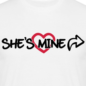 She's mine T-shirts - T-shirt herr