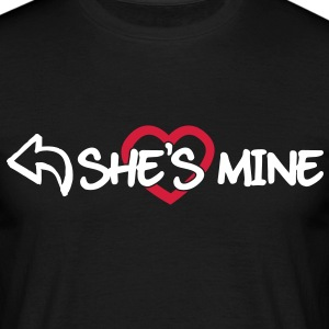 She's mine T-Shirts - Männer T-Shirt