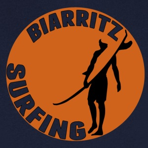 Biarritz surfing Tee shirts - T-shirt Homme col V