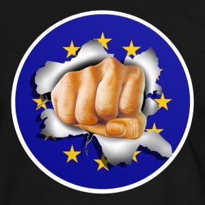 Anti EU - Fist 002 T-Shirts - Men's Ringer Shirt