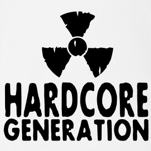 harcore generation radioactive Tee shirts - Body bébé bio manches courtes