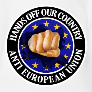 Anti EU - Fist Shirts - Organic Short-sleeved Baby Bodysuit