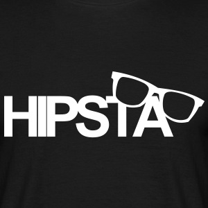 Hipsta,Nerd,You,live,once,trendy,young,wild,free - Men's T-Shirt