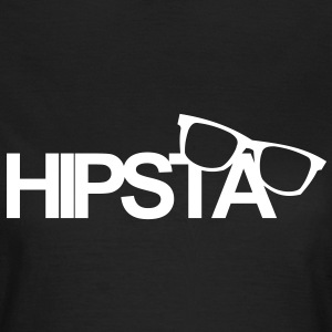 Hipsta,Nerd,You,live,once,trendy,young,wild,free - T-shirt Femme