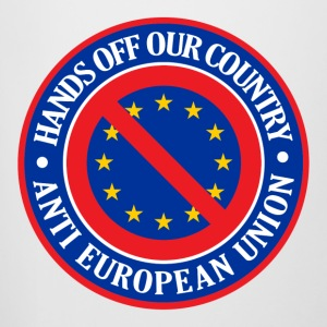 Hands Off Our Country - Anti EU Bottles & Mugs - Beer Mug