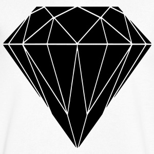 diamond T-Shirts - Men's V-Neck T-Shirt