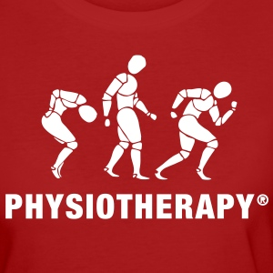 Three People Physiotherapie Shirt Frauen - Frauen Bio-T-Shirt