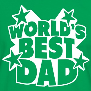 World's best Dad T-shirts - Herre kontrast-T-shirt