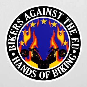 Anti EU Hands Off Biking EU 002 Bags  - Tote Bag