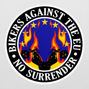 Anti EU Bikers Against The EU 001 Bags  - Tote Bag