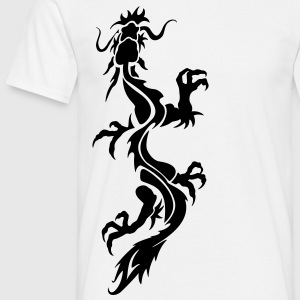 dragon tribal Tee shirts - T-shirt Homme