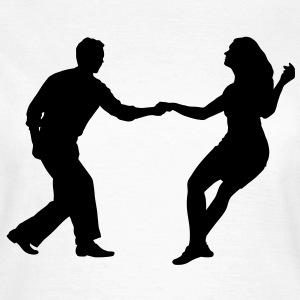 Swing dancers - Frauen T-Shirt