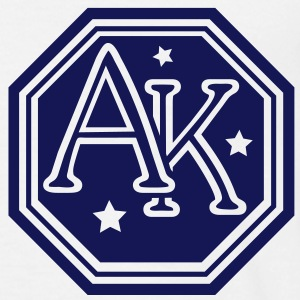 Ak monogram t-shirt - Men's T-Shirt