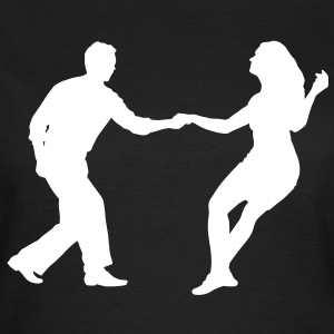 Swing dancers bk - Women's T-Shirt