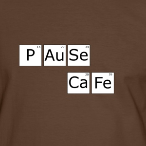 Coffee time T-shirts - Herre kontrast-T-shirt