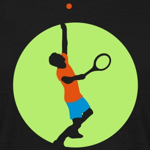 tennis_player_022013_a_3c T-Shirts - Männer T-Shirt