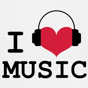 I Love Music ! Tee shirts - T-shirt Homme