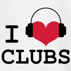 I Love Clubs ! Tee shirts - T-shirt Enfant