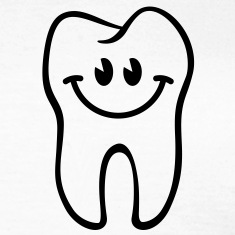 Zahn- / Tooth- / Dent- / Diente- / Dente-Smiley