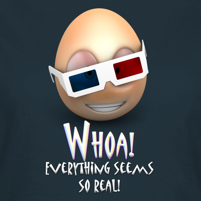 Jason's a Moron - 3D Glasses - Womens Shirt