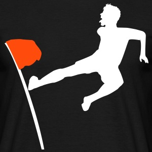 corner flag jump T-Shirts - Men's T-Shirt