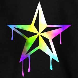 nautic_star_watercolor Shirts - Kids' T-Shirt