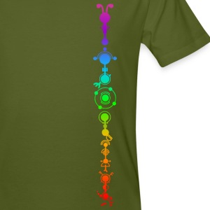 Crop circle - multidimensional human development T-Shirts - Men's Organic T-shirt