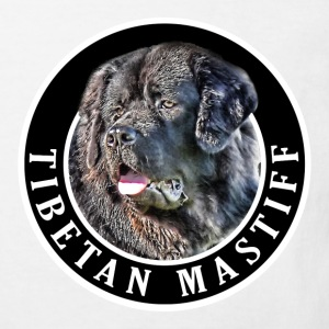 Tibetan Mastiff Dog 002 Shirts - Kids' Organic T-shirt