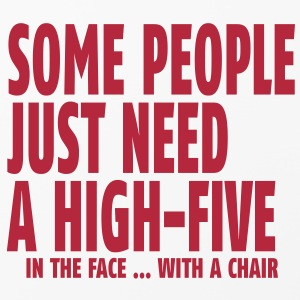 some people need a high five in the face I Other - iPhone 4/4s Hard Case