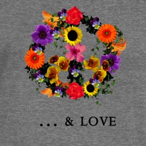 peace & love Hoodies & Sweatshirts - Women's Boat Neck Long Sleeve Top