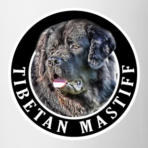 Tibetan Mastiff Dog 002 Bottles & Mugs - Mug