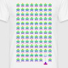 Retro Old School Game T-shirts - Herre-T-shirt