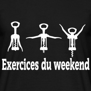 exercices weekend Tee shirts - T-shirt Homme