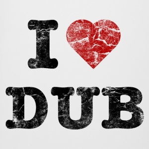 I Love DUB vintage dark Bottles & Mugs - Beer Mug