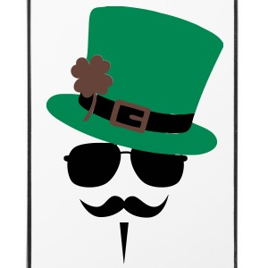 Go Green Moustache Other - iPhone 4/4s Hard Case