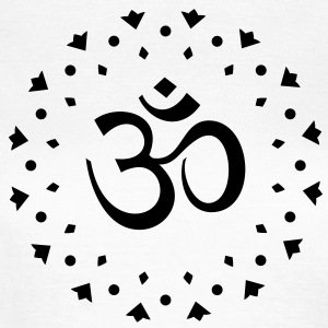 OM Sign Sanskrit Mantra Symbol Yoga T-Shirts - Women's T-Shirt