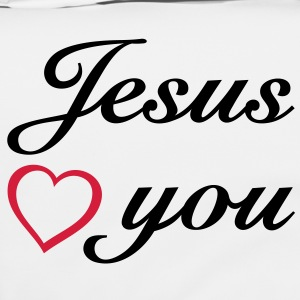: Jesus loves you. God is love. Bags  - Shoulder Bag
