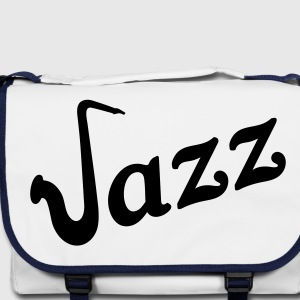 Jazz saxophone. Sax saxophone music Bags  - Shoulder Bag