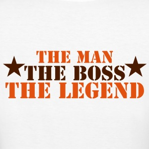 THE MAN THE BOSS THE LEGEND! T-Shirts - Women's Organic T-shirt